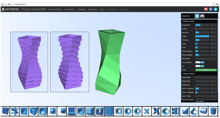 Autodesk Labs: Shapeshifter