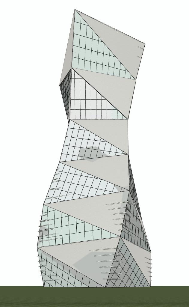 Main Building [Windows] - 3D View - Site 3D