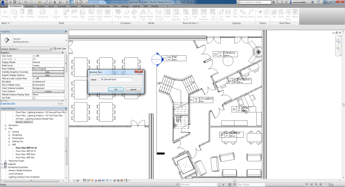 Placing Section in Floorplan
