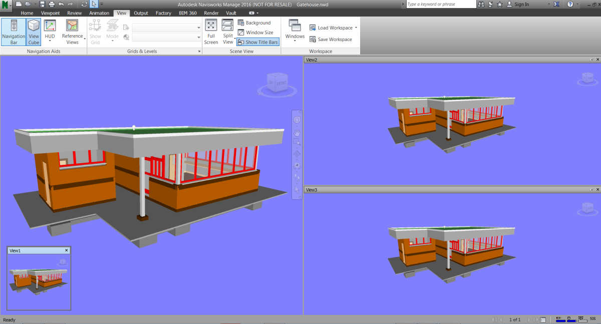 An introduction to screen views in Navisworks | Tips, tricks and
