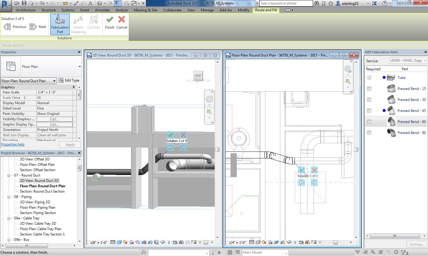 Revit MEP 2017 Release – improvements for MEP – Tips, tricks and