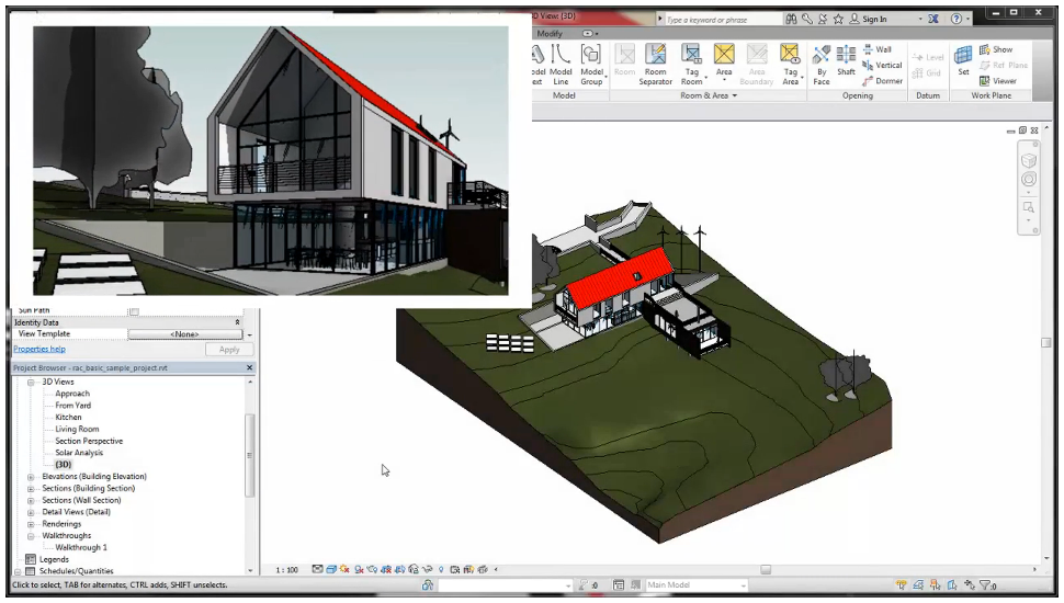 Revit 2017 Release – Enhancements for architecture