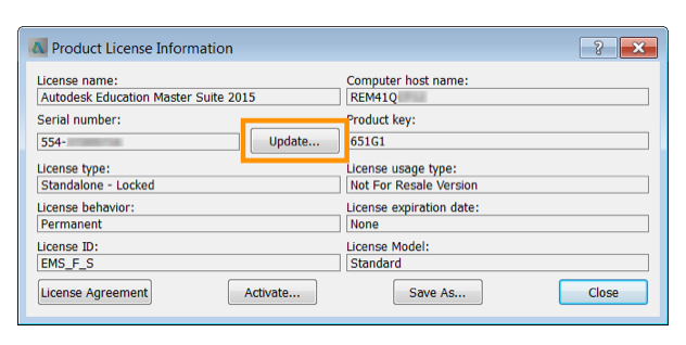 autodesk serial number and product key 2016