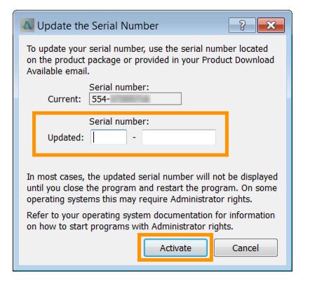 serial number5